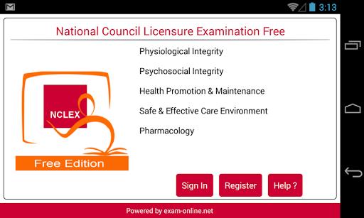 NCLEX Exam Online Free