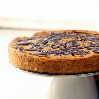 Healthy Pumpkin Cheesecake.