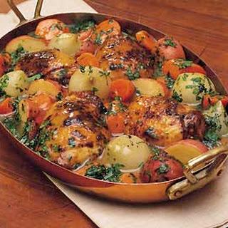 Skillet Chicken and Vegetables