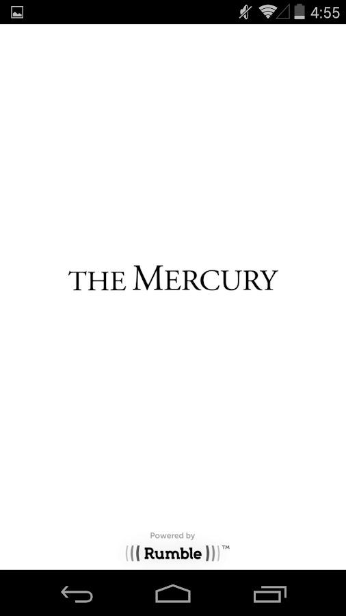 The Mercury for Android- screenshot