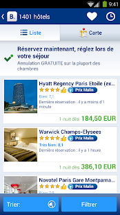 Booking.com - 445 000+  hôtels - screenshot thumbnail