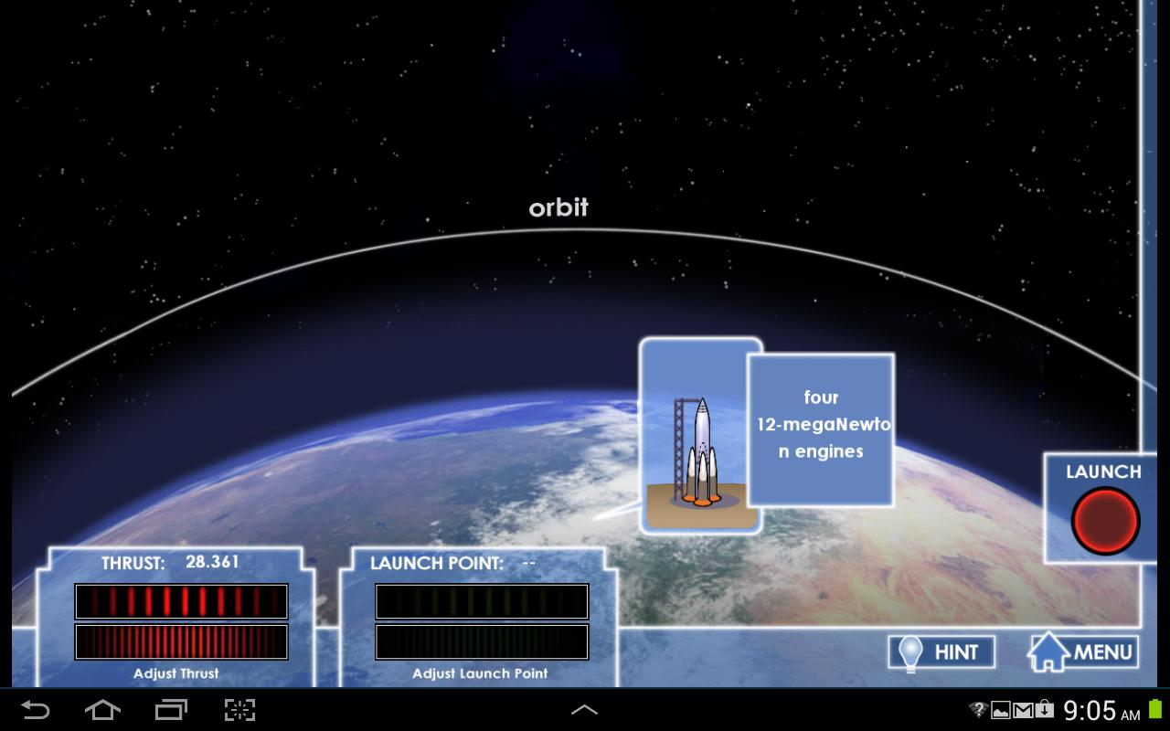 Gravity Launch- screenshot