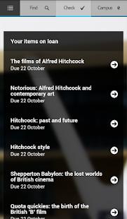 Huddersfield UniApp - screenshot thumbnail