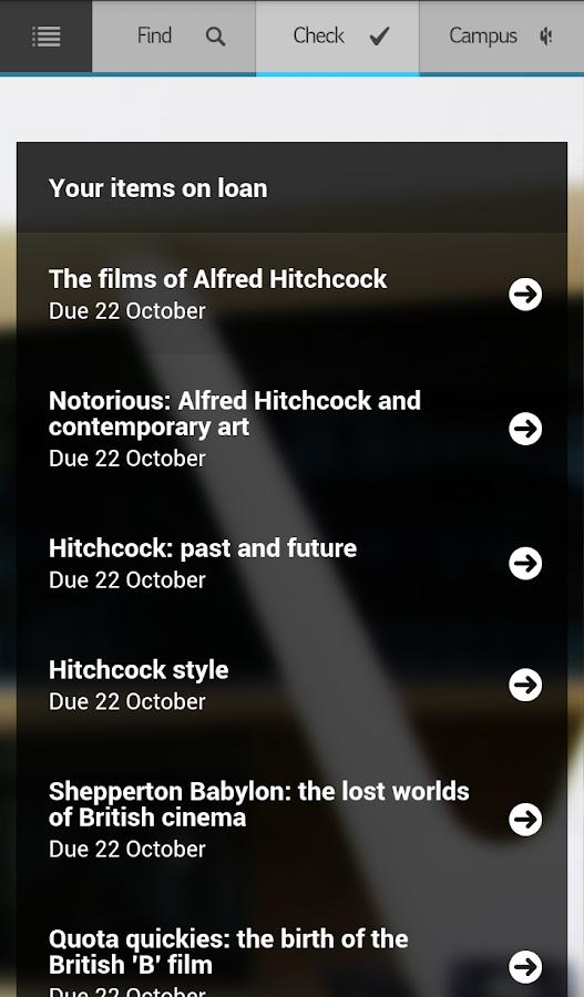 Huddersfield UniApp - screenshot