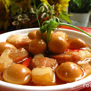 Vietnamese Caramelized Braised Pork Belly and Eggs (Thịt Kho).
