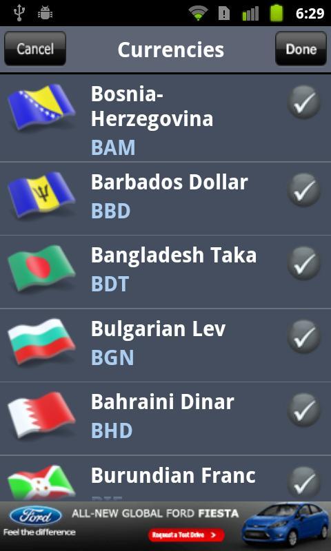 Currency Converter- screenshot