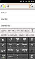 Screenshot of Dogri to English Dictionary