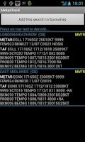 Screenshot of MetarDroid (Metar -Taf )