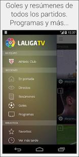 La Liga TV – Official - screenshot thumbnail