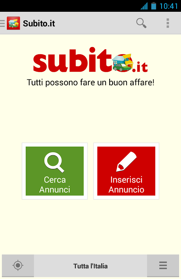 Applications android sur google play for Subito offerte lavoro roma