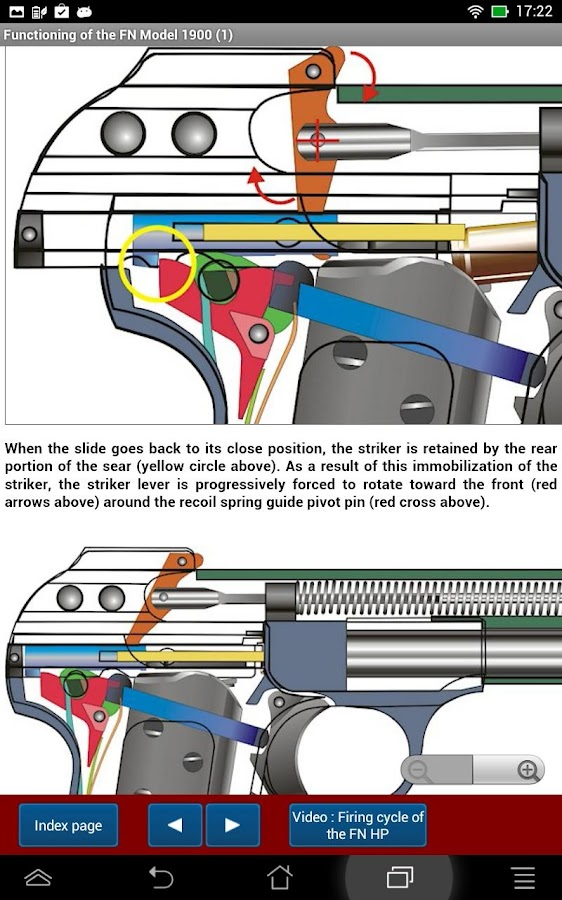 FN model 1900 pistol explained- screenshot