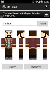 Mc Skins- screenshot thumbnail