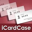 名刺入れ iCardCase logo