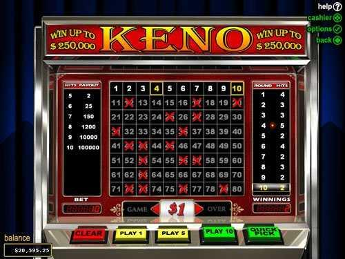 Keno Superstar: Lottery Game