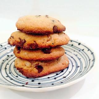 Paleo Chocolate Chip Cookies (Grain-free, Dairy-free, No refined sugar).