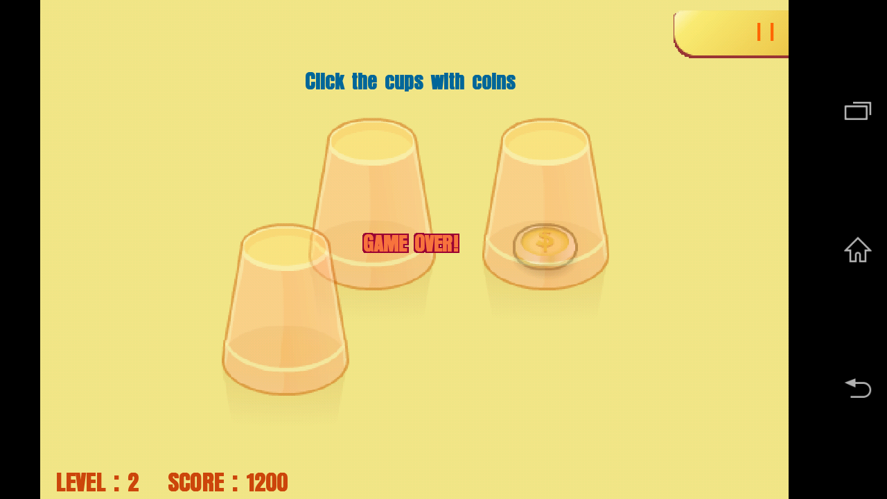 Tricky Cups- screenshot