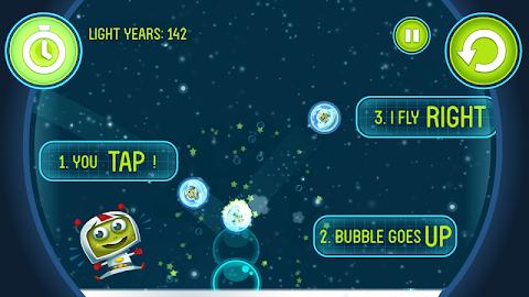 Hubble Bubbles Screenshot 2