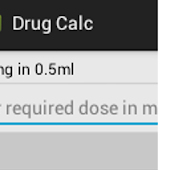 Simple Drug Dosage Calculator