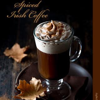 Spiced Irish Coffee.