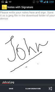 Signature Capture App - screenshot thumbnail