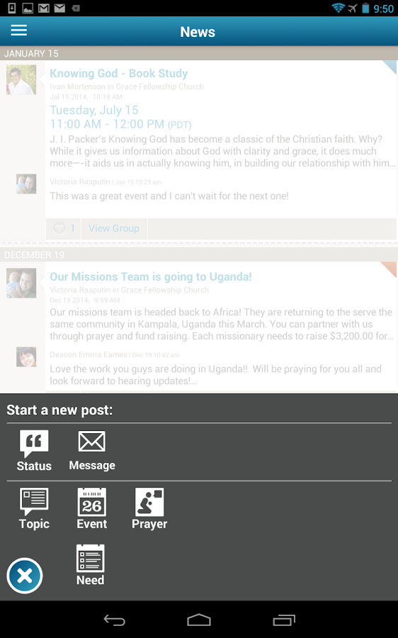 The City:Your Church Community- screenshot