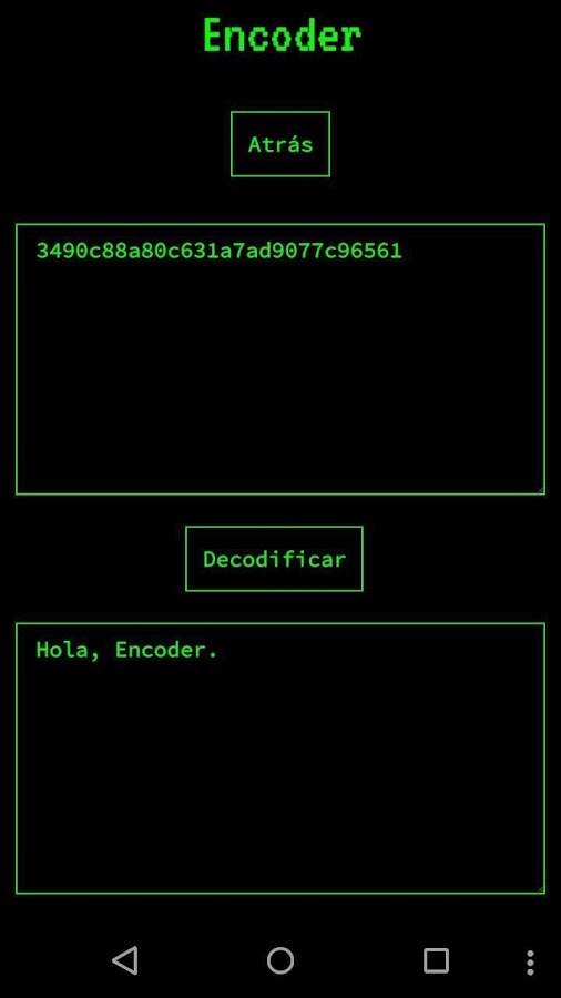 Encoder- screenshot