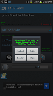 LATIN RADIO - screenshot thumbnail
