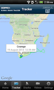 Global Shark Tracker- screenshot thumbnail