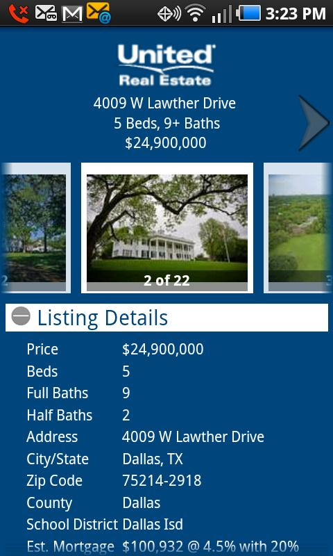 United Real Estate - screenshot