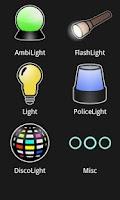 Screenshot of aLights - set of lights