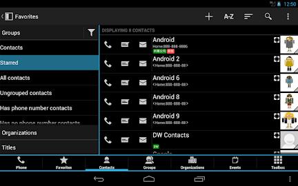 DW Contacts & Phone & Dialer Screenshot 14