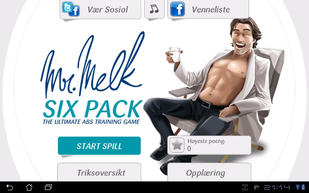Mr. Melk Six Pack - screenshot