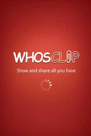 WHOSCLIP - screenshot