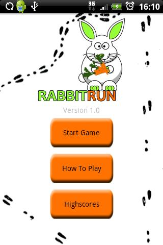 Rabbit Run - screenshot