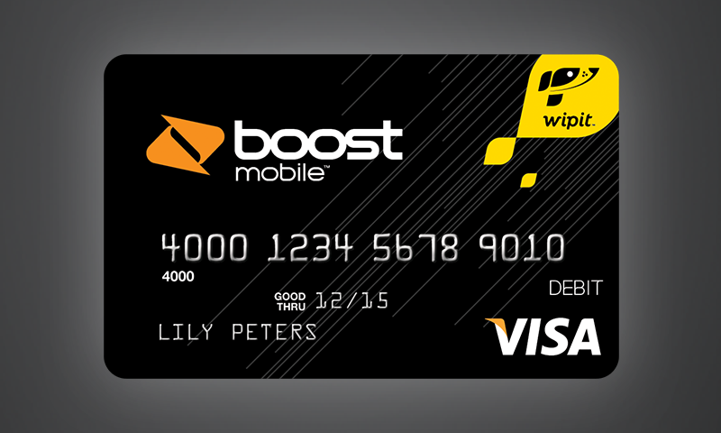 Boost Mobile Wallet - screenshot
