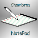 Chmbrs NotePad icon