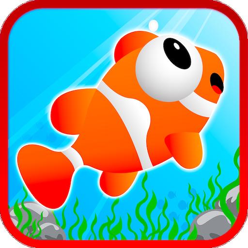 Clown Fish Bubble Run Joke 動作 LOGO-玩APPs