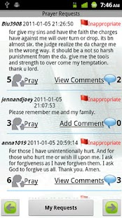 Grace Prayer Requests Donate - screenshot thumbnail