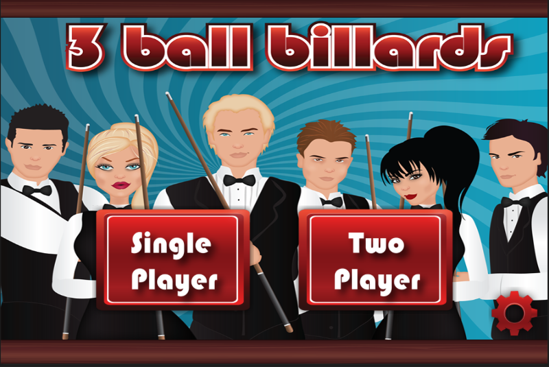 3 Ball Billiards- screenshot