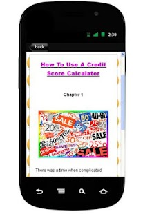 How To Credit Score Calculator - screenshot thumbnail