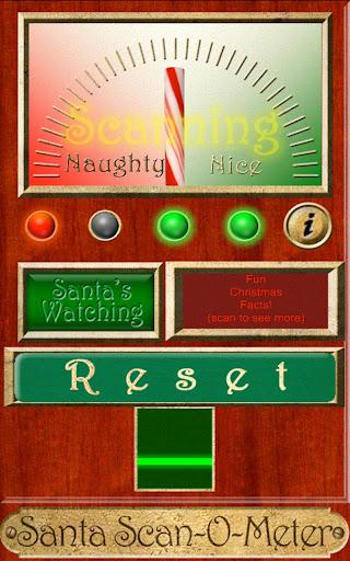 Santa's Scan-O-Matic Remote
