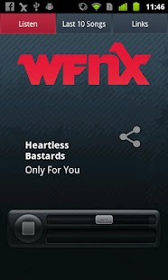WFNX Radio - screenshot thumbnail