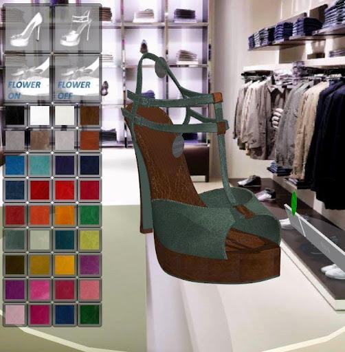 Qmaze 3D Shoe Configurator