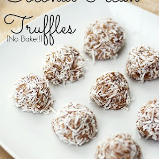 No Bake Coconut Pecan Truffles