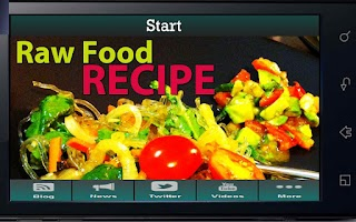 Screenshot of Raw Food Recipes