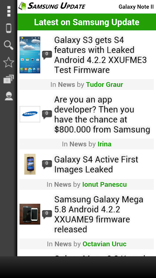 Samsung Update - screenshot
