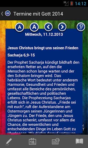 Termine mit Gott 2014