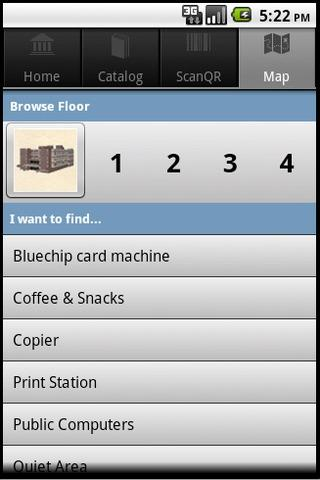 Burritt Library Mobile - screenshot