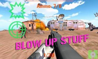 Screenshot of ELITE SNIPER: ZOMBIES