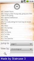 Screenshot of 888 Great Poems - free